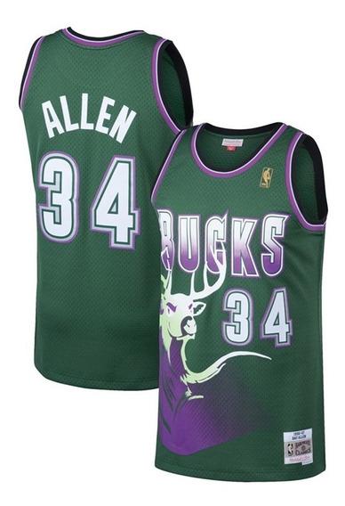 Camiseta Nba Milwaukee #34 Allen