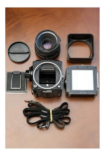 Câmera Hasselblad 501c Com Lente Carl Zeiss Planar 80mm 2.8