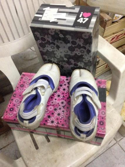 Zapatillas De Mujer 47 Street Usadas 36