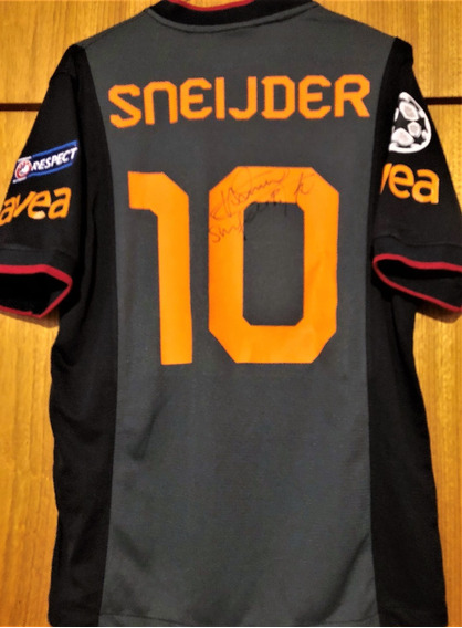 Camisa Do Galatasaray Autografada Wesley Sneijder