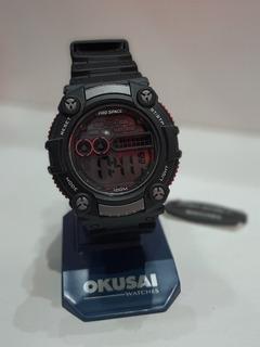 Reloj Pro Space Psh0054-h 100m Sumergible Mayra Accesorios