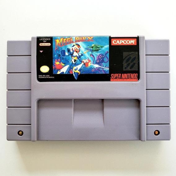 Mega Man X Original Snes Super Nintendo