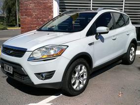 Ford Kuga 2.5 Titanium At 4x4 2013 Blanca Techo Cuero Full
