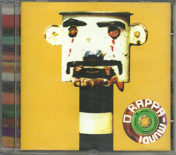 Cd O Rappa - Rappa Mundi - 1996