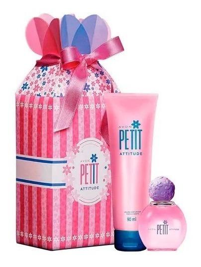 Avon Presente Petit Attitude 50ml + Loção Perfumada 90ml