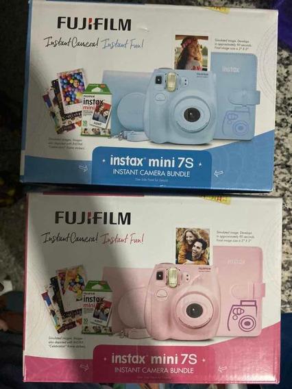 Cámaras Polaroids Fujifilm Instax 7s - Con Accesorios Oferta