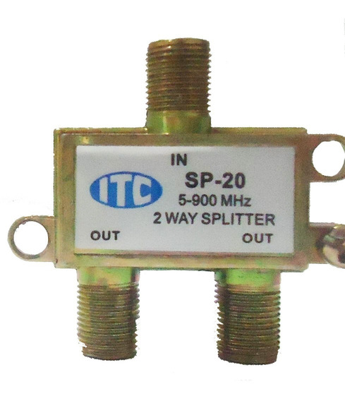 Divisor 1×2 Itc 5 A 900 Mhz Pacote Com 10pçs.