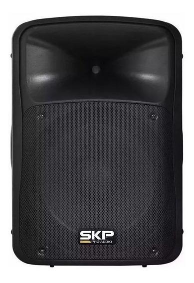 Caixa Amplificada Ativa Skp 5ksp Bt/bk 250 Wrms Toca Passiva