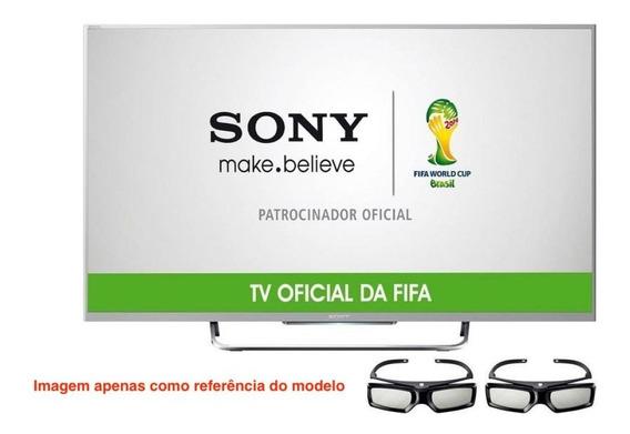 Tv Sony Kdl-50w805b Com Defeito No Painel De Lcd