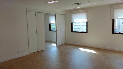 Cj0718 - Conjunto Para Alugar, 65 M² Por R$ 3.000/mês - Vila Olímpia - São Paulo/sp - Cj0718