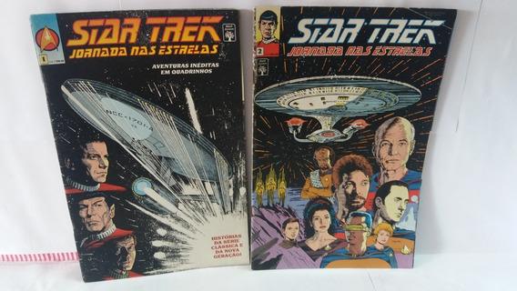 Hq Star Trek Jornadas Nas Estrelas Números 1 E 2 Abril Jovem