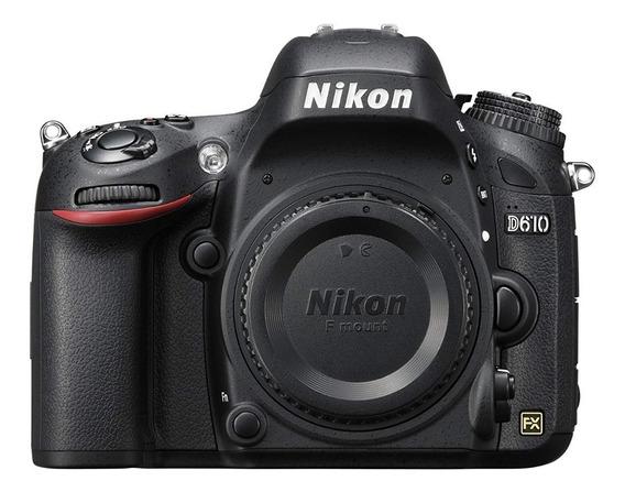 Câmera Nikon Dslr D610 ( Somente Corpo ) Pronta Entrega