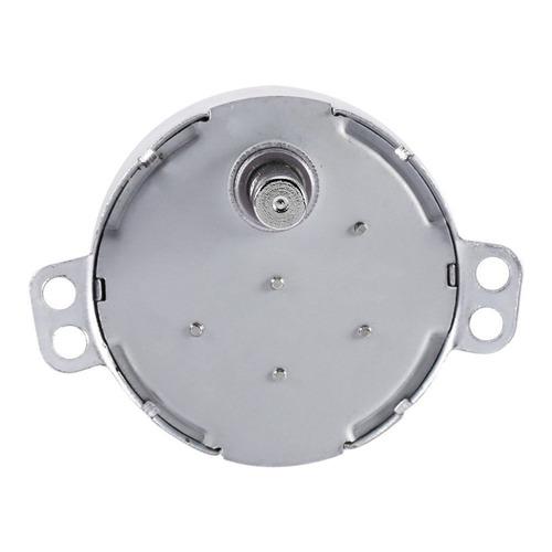 CNBTR Motor s/íncrono reversible de eje plano AC 12 V 2-2.4 RPM//min 4 W de repuesto para ventilador aire acondicionado