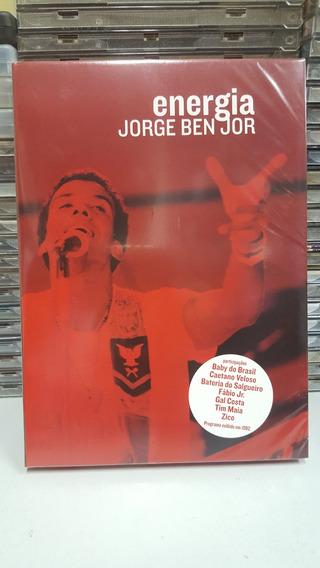 Dvd Jorge Ben - Energia (novo/lacrado)