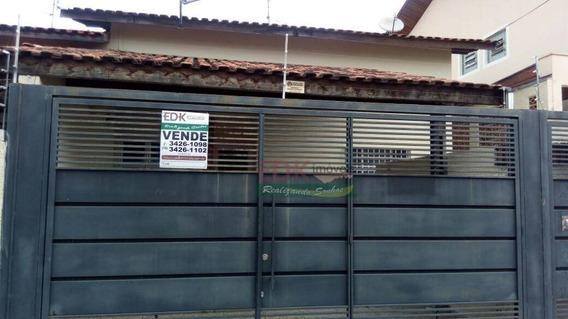 Casa Residencial À Venda, Vila São José, Taubaté. - Ca1626