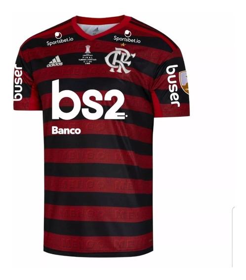 Camisa Flamengo Final Libertadores Oficial Pronta Entrega