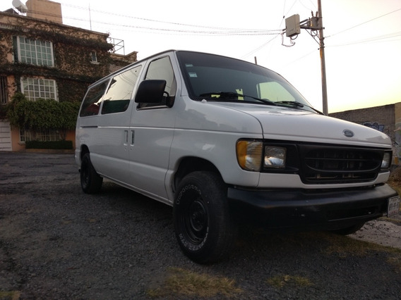 Ford Econoline Club Wagon.