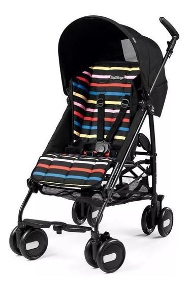 Coche Peg Perego Minipliko Aluminio Barral Promo!! Colores