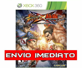 Street Fighter X Tekken Xbox 360 Mídia Digital
