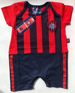 Body Corto Camiseta Bebe San Lorenzo - Producto Oficial