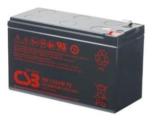 Batería Csb Scooter Eléctrico Ups Hr1234 12 Volts 9 Amperes