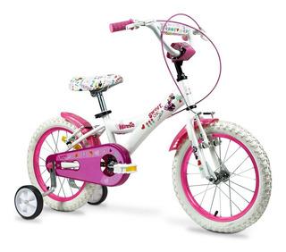 Bicicleta Minnie R16 Nena Rayos 161112