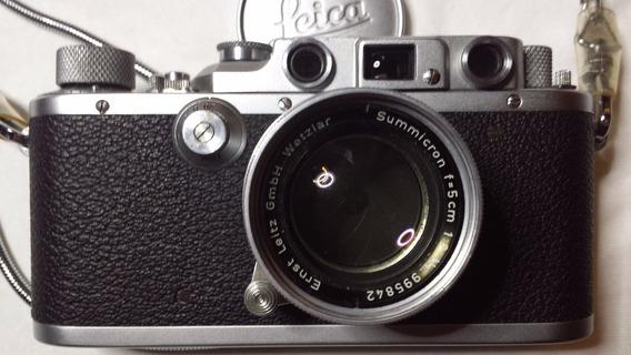 Máquina Fotográfica Leica Excepcional,sem A Lente