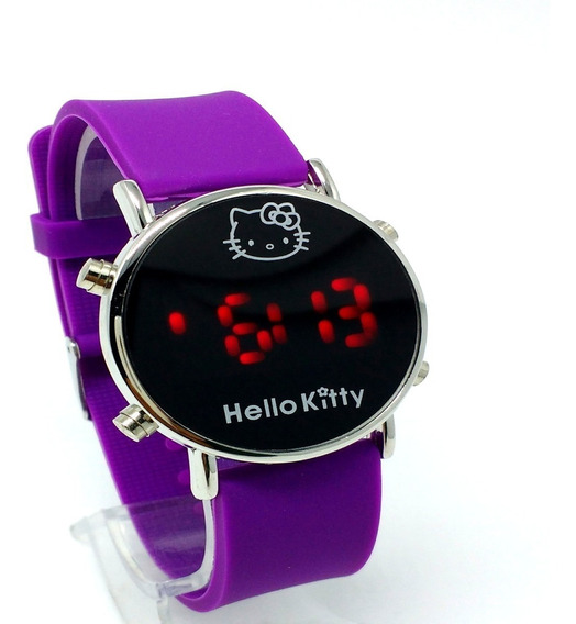 Relógio Infantil Feminino Pulso - Led Digital Pronta Entrega