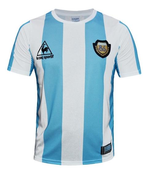 Camiseta Argentina 86 Le Coq Sportif Aniversario 30 Años