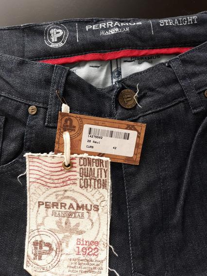 Jean Perramus Original Nuevo Talle 42 Straight