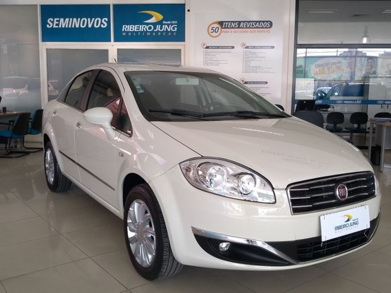 Fiat Linea Essence 1.8 Dualogic 2016 Branco Flex