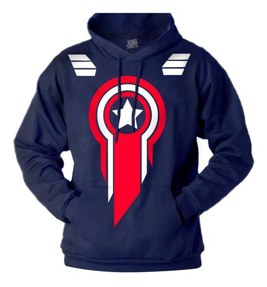 Sudadera Capitán America Endgame Marvel Con Envío Gratis