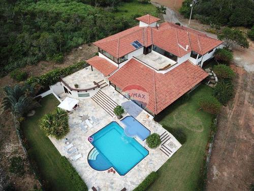 Mansão Em Búzios 615m², Campo De Golfe - Ca1699