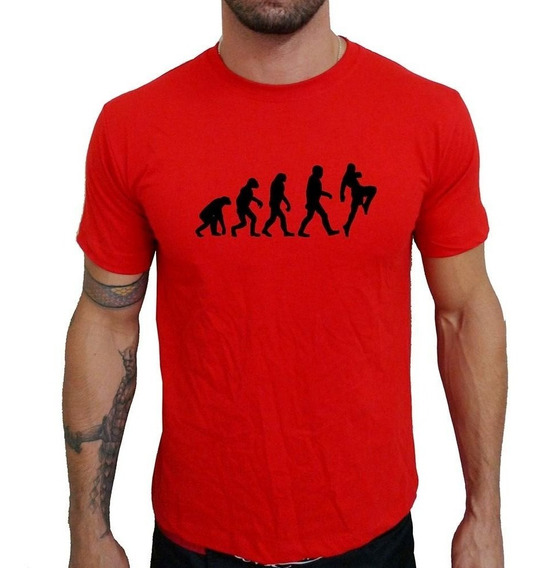 Camiseta Mma Shop Muay Thai Evolução