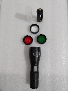 Alonefire Cree Xml T6 Tático Lanterna Led Caça Tocha Zoom