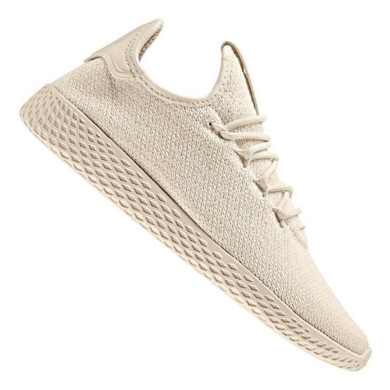 Tenis adidas Pw Tennis Hu W - Pharrell Williams Crema