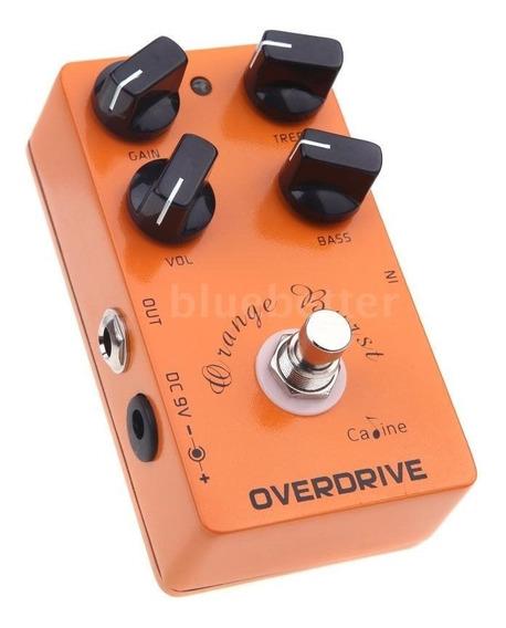Pedal Caline Cp-18 Orange Overdrive = Bb Preamp Xotic