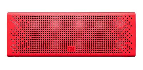 Caixa De Som Mi Bluetooth Speaker Xiaomi Vermelha Portátil