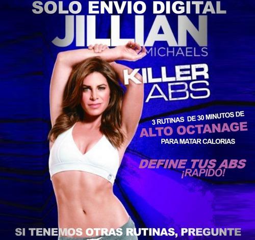 Jillian Michaels Abdominales Matadores Fitness Sin Pesas