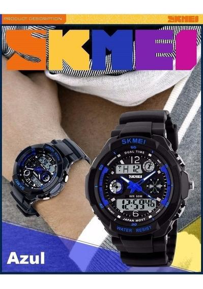 Relógio Esportes S- Shock Skmei Militar 0931