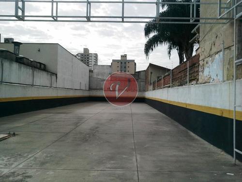 Terreno Para Alugar, 400 M² Por R$ 6.500,00/mês - Jardim - Santo André/sp - Te0382