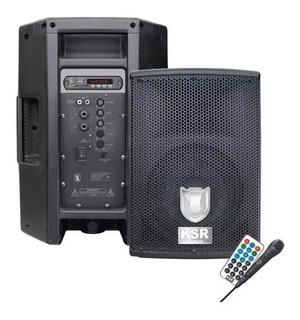 Bocina Ksr 8 Pulgadas Profesional Potencia Bluetooth Msa7508