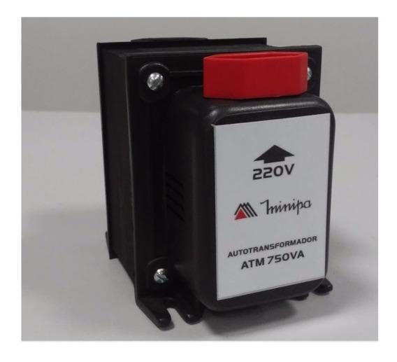 Transformador De Voltagem 750va 110/220v E 220/110 Minipa