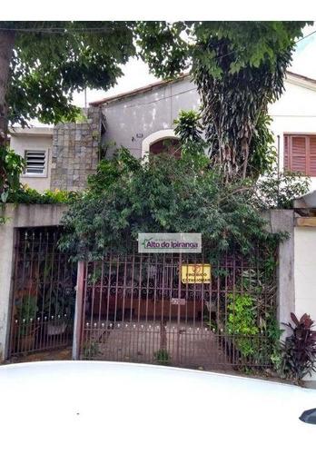 Sobrado Com 2 Dormitórios À Venda, 240 M² Por R$ 850.000,00 - Ipiranga - São Paulo/sp - So0579