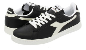 Tenis Diadora Game L Low Waxed Negro Hombre No. C1092