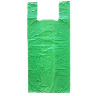 Sacola Plástica Super Reforçada Resistente Verde 60x80 100un