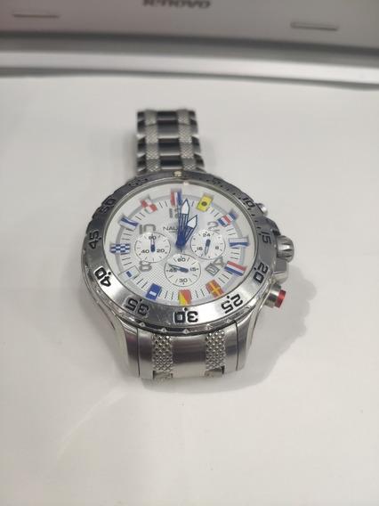 Relógio Nautica Chronograph A29512g - Original