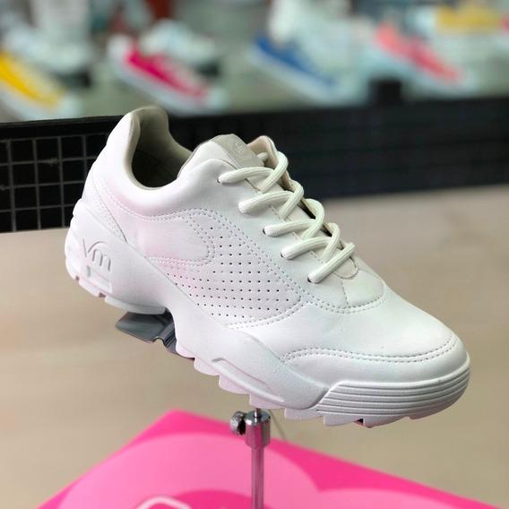 Tênis Via Marte Branco Sneaker Dad Shoes Verão 2020 - Att