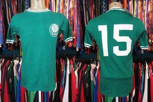 Palmeiras 1972 Camisa Titular Tamanho G Número 15.