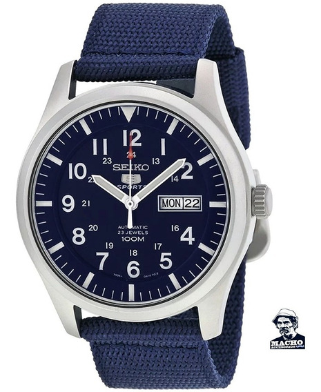 Reloj Seiko 5 Sports Snzg11 Automático En Stock Original